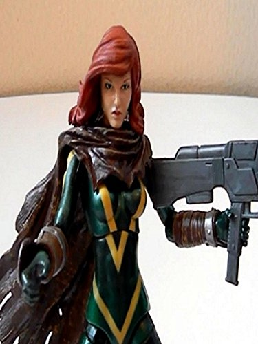 "Marvel Legends X-men HOPE SUMMERS 6"" inch Review (Hasbro) action figure toy"