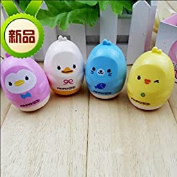 4pcs Free Shipping Brand Pencil Sharpener Cutter Knife Kawaii Lovely Cartoon Korean Stationery School Office Supply Award Gift