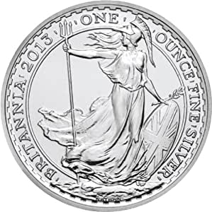 2013 British Britannia One Ounce Silver Coin
