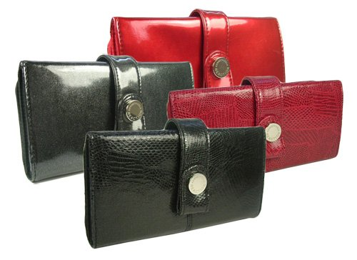 Kenneth Cole Reaction Womens Tab Clutch Wallet in Choice of Colors