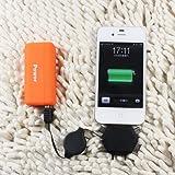 MOGOI(TM) Mini Portable Power Source Mobile Universal Long Lasting High Capacity Portable LED Power Bank Battery Charger With MOGOI Accessory