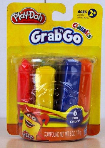 Play Doh Classic Grab 'N Go Classic- 6 Fun Colors