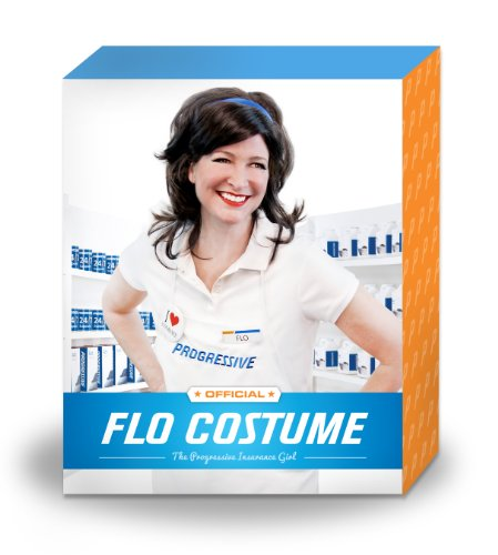 Progressive Collection Flo Insurance Girl Costume $39.99