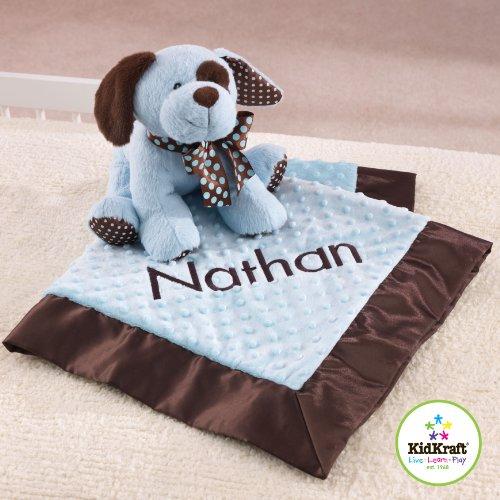 KidKraft Puppy and Blanket Set- Blue 66143 - 1