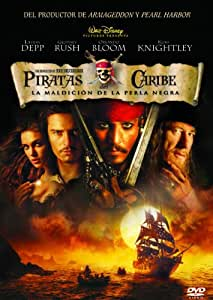 Piratas del Caribe: La maldición de la Perla Negra DVD