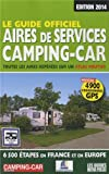 Le guide officiel des aires de services camping-car 2014