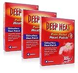 Deep Heat patch 4 **3 PACK DEAL**