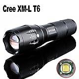 Amazon.co.jpWTOR LED 懐中電灯 ライト ハンディライト 高輝度 ズーム式5モード 2000LM CREE XM-L T6 (ブラック)
