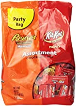 Hershey39s Assortment Chocolate Mix Reese39s Miniatures amp Kit Kat Minis 40-Ounce Packages Pack of