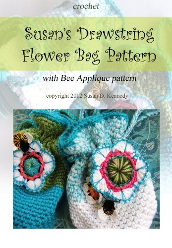 Susan's Flower Bag with Bumblebee Crochet Pattern
