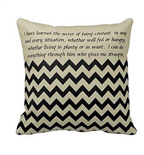 Sunnywill Pillow Case Sofa Taille Throw Kissen Cover Home Decor