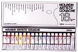 ホルベイン 不透明水彩絵具 18色セット