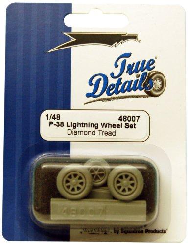 True Details TD48007 P-38 Lightning Wheels