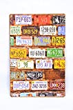 NUMBER PLATES 30*20(HBcm) Tin Wall Plank