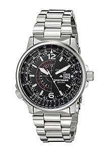 Citizen Men's Nighthawk Eco-Drive Watch BJ7000-52E, Stainless Steel
