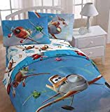 Disney Planes 'On Your Mark' Twin Size Sheets Set