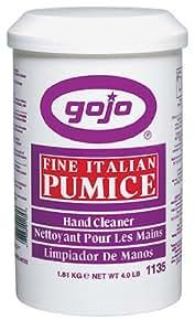 Gojo 1135 Fine Italian Pumice Hand Cleaner - 4 lbs.