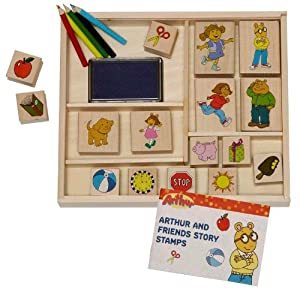 Arthur And Friends Stamp-A-Story