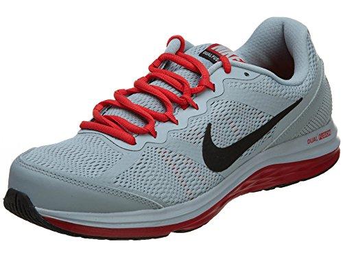Nike Men'S Dual Fusion Run 3 Lt Mgnt Gry/Blk/Mtllc Slvr/Gm Running Shoe 8.5 Men Us