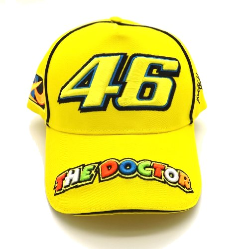 2014 Official Valentino Rossi 46 The Doctor Moto Gp Baseball Cap Yellow