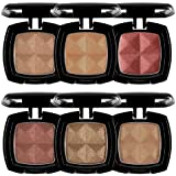 NYX Cosmetics Single Eye Shadow 6 Piece Set B