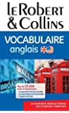 Vocabulaire anglais