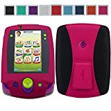 Leap Pad 2 Case Hotcool New Pu Leather With Kickstand Cover Case For Leapfrog Leap Pad 2 Learning Tablet, Magenta