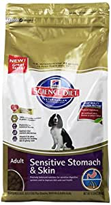 Hill's Science Diet Adult Sensitive Stomach & Skin Dry Dog Food, 4.5-Pound Bag