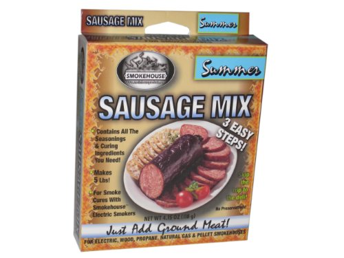 Smokehouse Products- Summer Sausage Seasoning Mix, 10-Pack