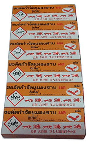 6-pcs-cockroach-cockroaches-bugs-ants-roach-kills-pesticides-chalk-guaranteed-on-sell-with-complemen