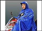 スクーター  用 雨合羽 ポンチョ レインコート XXL すっぽり丸ごと バイク も 人 も ビッグスクーター ロードバイク レインウェア レインジャケット レインスーツ lf