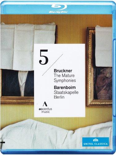 Anton Bruckner: Symphony No. 5 - Daniel Barenboim & Staatskapelle Berlin [Blu-ray]