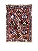 L'Eden del Tappeto Alfombra Yalameh .N Rojo 150  x  106 cm