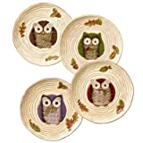 Crimson Hollow Owl Accent Plate (sold separately)