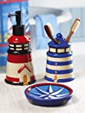 3-Pc. Lighthouse Nautical Bath Accessory Set By Collections Etc