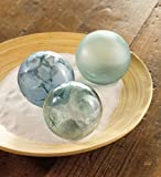 Sea Glass Globes set of 3