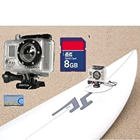 GoPro HD Surf Hero High Definition Waterproof Camera + 8GB SD Card