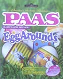 Paas Egg Arounds - 12 Easter Egg Wrappers - Use Blow Dryer or Boiling Water