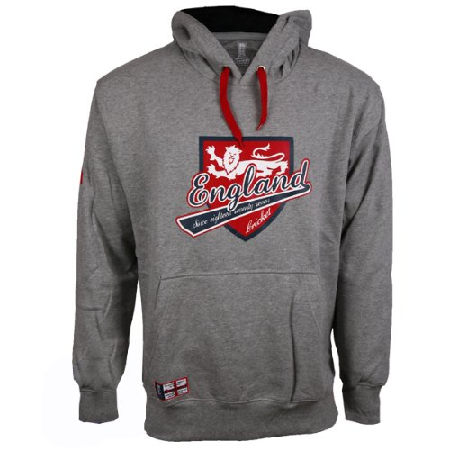 ECB England Cricket Official Licensed Supporters Hooded Sweatshirt - rrp£37