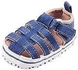 La Vogue Zapatos para Bebe Sandalias Infantil Primeros Pasos Azul Talla 12cm