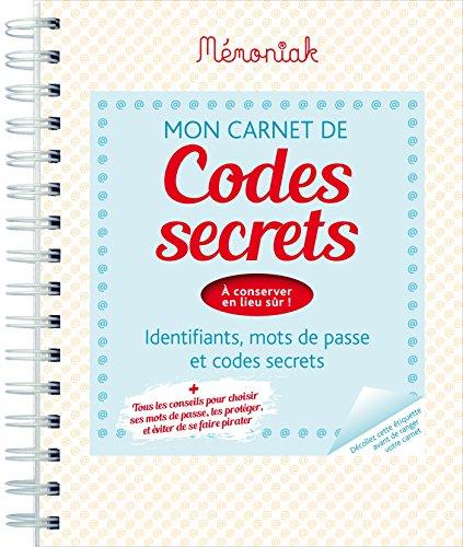 Carnet de codes secrets Mémoniak 2017