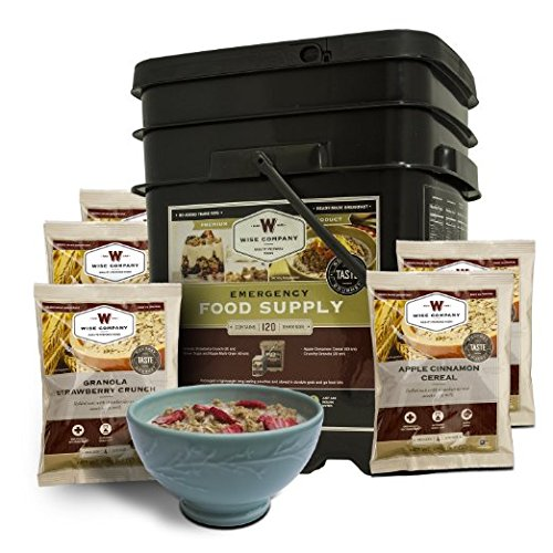 Wise Foods Breakfast Only Grab & Go Bucket 120 Serving