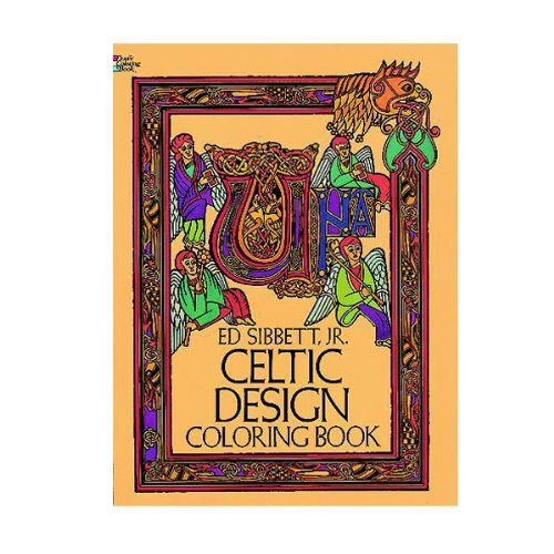 Dover Coloring Book Celtic Design
