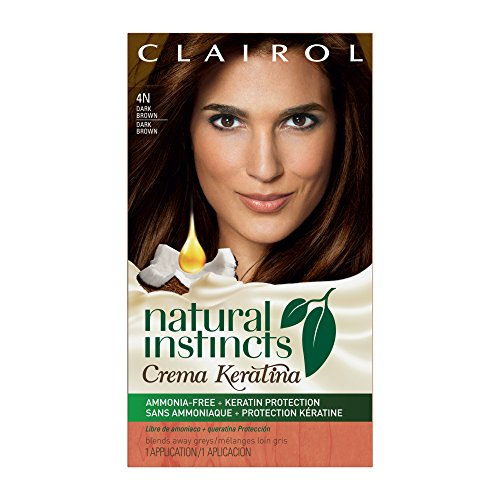 Natural Dark Coffee : A dark coffee brown berina permanent hair color cream of