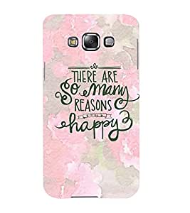 Mental Mind 3D Printed Plastic Back Cover For Samsung Galaxy E5- 3DSAME5-G1486