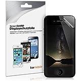 Film de protection confidentiel pour �cran Apple iPhone 4 / 4S. Prot�gez votre vie priv�e. Qualit� sup�rieure sign�e kwmobile