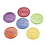 144 Good Character Plastic Coins/Tokens