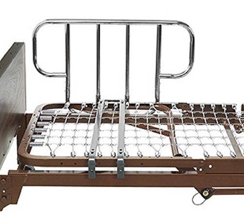 Купить со скидкой Semi-Electric Home Hospital Bed (Invacare Value Care Semi-Electric Bed w/Mattress, Rail Set, & Free
