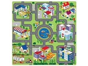 Tapis Puzzle En Mousse Circuit De Voiture 9 Pieces Jeux Et Jouets