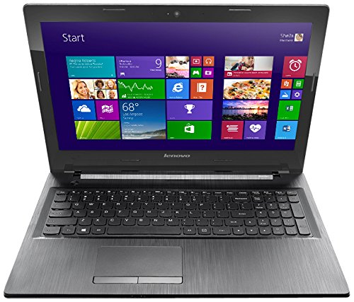Lenovo G50-45 80E3005RIN 15.6-inch Laptop (E1 6010/2GB/500GB/Windows 8.1/AMD Radeon R4 512MB Graphics/with Laptop Bag) Black